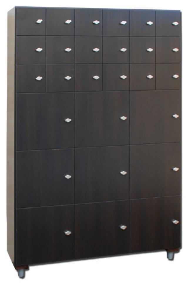 Armadio portaoggetti a 27 moduli tutti nuovo wellness point - Portaoggetti armadio ...