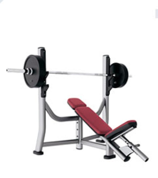 Olimpic incline bench (SOIB)