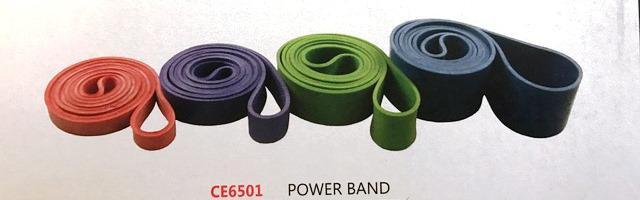 Power band CE6501 Elastico di resistenza ad anello