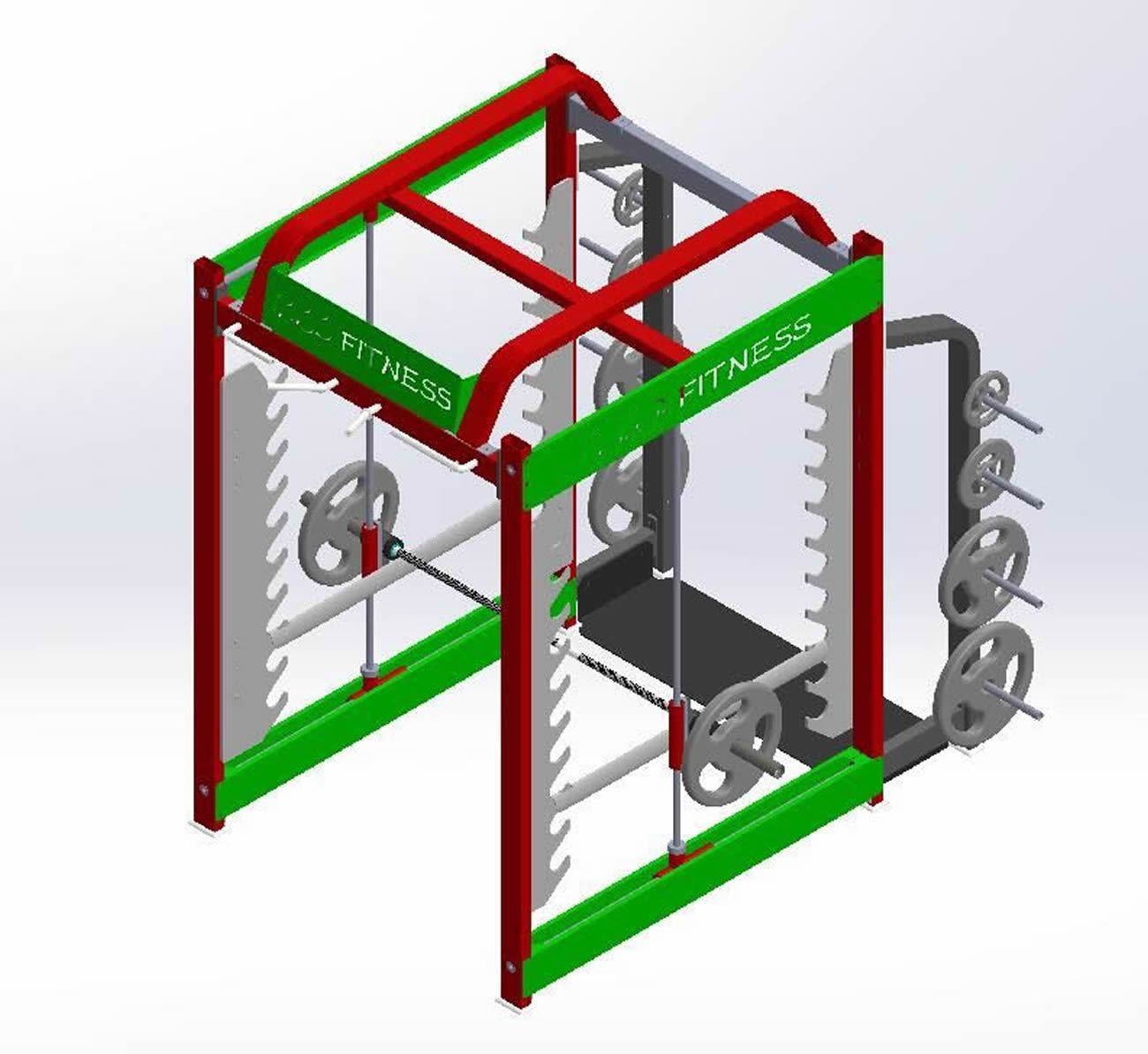 3D Smith Machine TXD 030