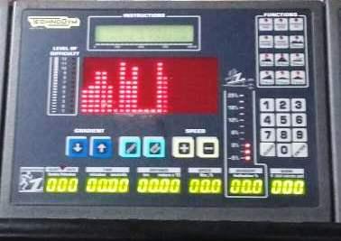 Consolle completa per Run race technogym