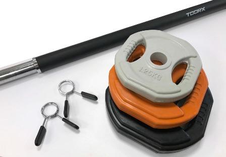 Bilanciere body pump rivestito in foam BP-B