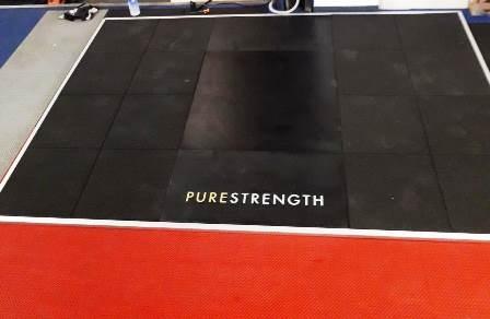 Pedana per Olympic Power/half rack Pure Strength