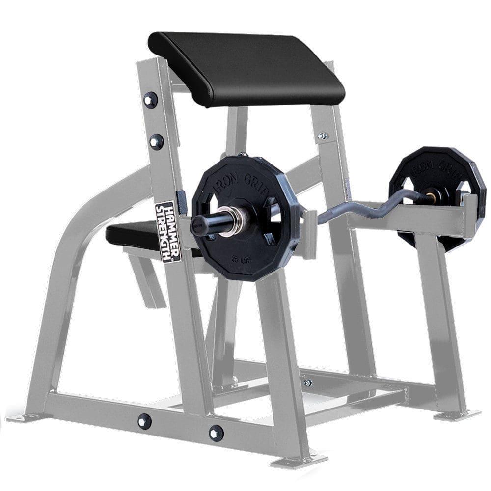 Scott bench Life Fitness Hammer Strength Training Stations