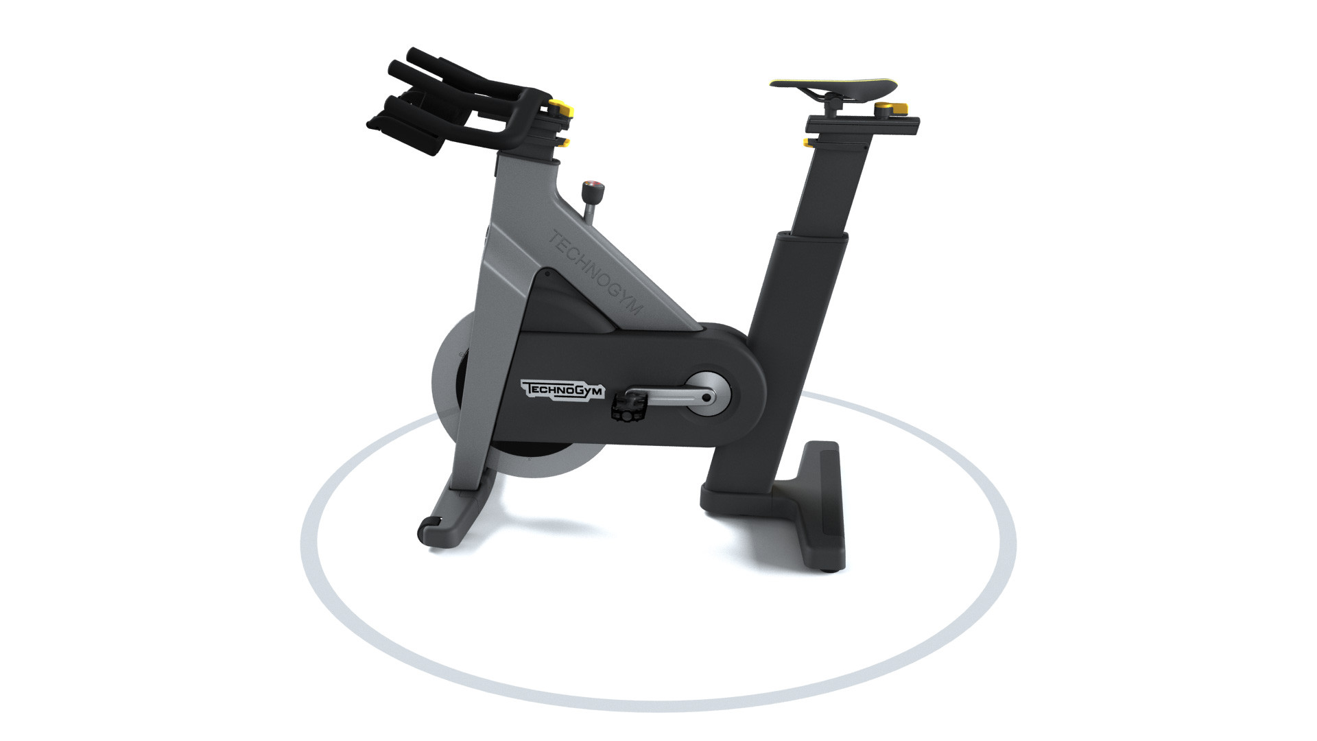 Spinning Group cycle connect technogym grigio
