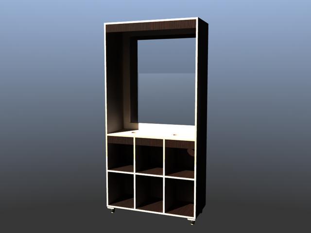 Specchiera nobilitato con specchio 5 mm. (art.69)